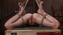 master her by fucked dildo whore bdsm Hogtied