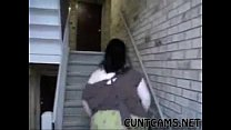 Neighbor Begs to Choke on BBC - More at cuntcam...