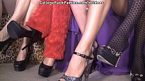 Horror theme party with naughty college girls scene 3 - 9Club.Top