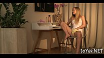 Stunning solo cutie in a hot play