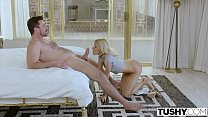 Image: TUSHY Blonde Teen Gets Anal Dominated By Her Master