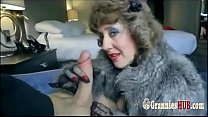 Classy Granny Brunette Loves To Suck Big Young ...