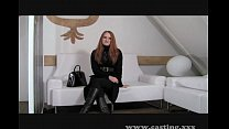 Casting - Redhead is ready to go all the way Image