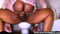 4k Making Babies With My Stepdaughter Who Doesn't Know She Is Getting Impregnated On The Toilet, Black StepDad Cumsht Msnovember Innocent BlackPussy Point Of View RidingCreampie On Sheisnovember