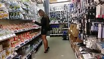 More Mum Shopping Buttplug Heels Stockings. See pt2 at goddessheelsonline.co.uk porn image