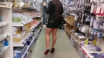 Image: More Mum Shopping Buttplug Heels Stockings. See pt2 at goddessheelsonline.co.uk