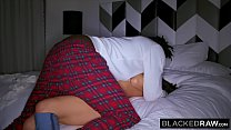 BLACKEDRAW Naughty College Student Lives Out Fantasy To Fuck Strangers BBC preview image