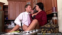 Big Tits In Uniform - Dinners On Me scene starring Mariah Milano and Levi Cash