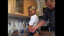 Beautiful german blonde girl with perfec ass knows how to fuck hard Thumbnail