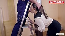 LETSDOEIT - German Business Babe Mia Blow Fucks At The Office With One Of Her Workers
