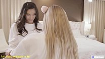 Image: Scarlett Sage and Emily Willis Having Sex For The First Time - We Like Girls