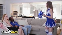 BANGBROS - Young Cheerleader Riley Reed Rides A...