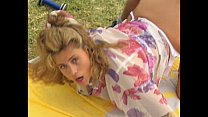 Swedish redhead and Indian beauty in Vintage 90s porn thumbnail