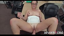 A big hard dick is pushes inside a excited amateur