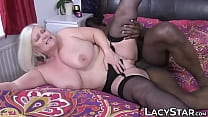 Granny dicked before interracial old vs young f...