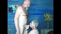 Chaming mature mom AimeeParadise charmingly sucks cock.. ))