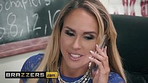 Big Tits at School - (Tegan James, Derrick Ferrari) - Washing Her Mouth Out With Cum - Brazzers thumbnail