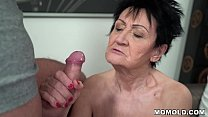 Horny GILF Anastasia Sucking and Punished by Energetic Young Stud