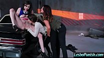Hot Lez Girl (addison&tory&vera) Get Punish By Mean Lesbo With Dildos clip-04
