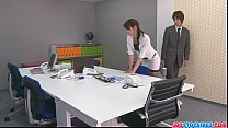 Free download video bokep Japanese offce chick fucked hard and loaded with mannaise