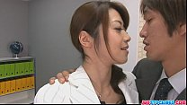 Japanese offce chick fucked hard and loaded with mannaise [오피스걸 Office girl]