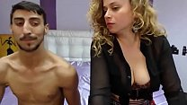 Young Couple have fun on webcam-Watch Part2 on Hotcamshd.com