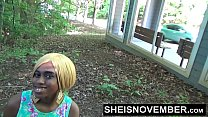 11756 Blonde Young Ebony In Street Blowjob Sloppy Head By Msnovember POV Risky Public preview