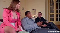 Curvy Milf Lucia Love Double Penetrated By Husband and Lover