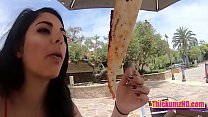 Gina Valentina's Day out with NASTY COCK