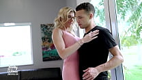 Step Mom Seduces Step Son and he impregnants her with a Creampie - Cory Cha