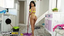 BANGBROS - Big Booty Latin Maid Canela Skin Gets It In The Ass From Pablo Ferrari