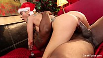 Sarah Jessie Christmas Interracial Fuck thumb