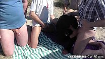 (download x video) • Slutwife fucked by lots of strangers during summer vacation thumbnail