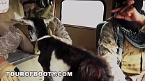 18304 TOUR OF BOOTY - American Soldiers Trade Goat For Some Sweet Arab Pussy preview