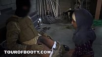 TOUR OF BOOTY - American Soldiers Trade Goat For Some Sweet Arab Pussy thumbnail