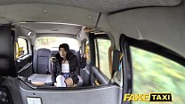 Fake Taxi knee high socks beauty with no knickers takes it all image