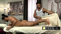 Gay massage gone wild with those big balls