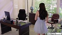 VIXEN Lana Rhoades Has Sex With Her Boss - 9Club.Top