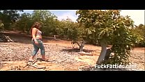 Fat Slut Fucking In An Avocado Farm - Full Movie video