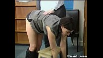 British Girl (Thieving Girl Gets Spanked By Boss) - panjabi xxxx thumbnail