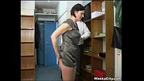 British Girl (thieving girl gets spanked by boss) - Download mp4 XXX porn videos