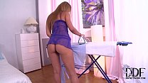The Talented Melanie Gold Takes A Hard Plunging In Her Ass