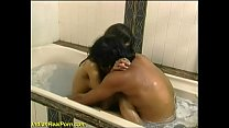 young indian desi teen takes a shower thumbnail