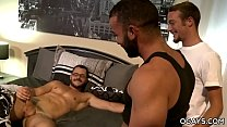 Muscular neighbours fuck each other