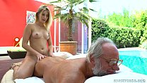 Aria Logan and her much older friend - Grandpas Fuck Teens tumblr xxx video