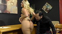 Loan Officer Makes Him Lick Ass To Get a Loan - AJ Applegate Thumbnail