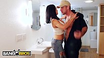 BANGBROS - Audrey Bitoni Secretly Fucking The Mover Behind Boyfriend's Back Preview