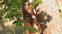 Image: Czech girl naked in forest