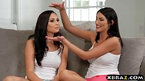Sexy pornstars August Ames and Ariana Marie threesome fucked ‣ all sex video thumbnail