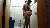 Sensual Married Indian Couple Shower Full Masti Chudai